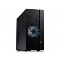 N400, Mesh front panel, Includes two XtraFlo 120 fans, support for up to 8 fans,Supports high-end graphics cards up to 320mm, USB 3.0*2, Supports up to 8 HDDs (2 tool-less)