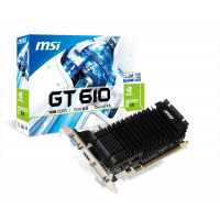 N610-1GD3H/LPV1 - GEFORCE GT 610 1GB, DDR3 PCI-E 2.0 - LP