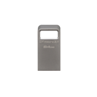 Data Traveler Micro 64GB USB 3.1/3.0 Type-A metal ultra-compact