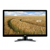 "Acer G6 - 61cm (24"") Wide, 16:9 FHD, 1ms 100M:1 ACM 250nits LED DVI HDMI EURO/UK EMEA MPRII Black w/Red stand Acer EcoDisplay"