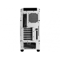 CM 690 III WHITE, up to 5 SSD's, 240mm radiator top/front, Up to 9 fan including 200mm in front.Transparent side panel version