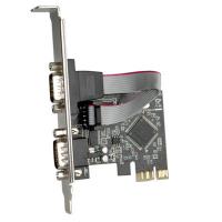 Placa PCI express com 2 portas Série
