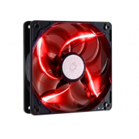 Sickle Flow 120mm Red LED Fan, 2000rpm, 69,69 CFM, Long-Life Sleeve, 50.000H