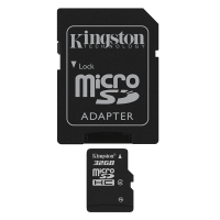 Micro SD card 32GB Classe 4 - com adaptador SD