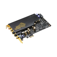 Xonar Essence STX Industry-leading 124 dB SNR / Headphone Amp card for Audiophiles