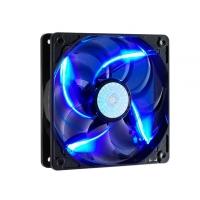 Sickle Flow 120mm Blue LED Fan, 2000rpm, 69,69 CFM, Long-Life Sleeve, 50.000H