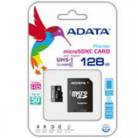 MICRO SDHC 128GB U1 CLASS 10 ADATA C/ ADAPTADOR SD