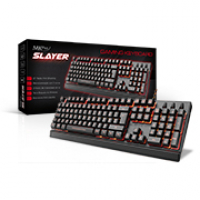 TECLADO GAMER MKPLUS TG8120SLAYER, 105 TECLAS, USB