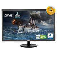 "VP228TE- Monitor LED - 21.5"" - 1920 x 1080 FullHD - 200 cd/m2 - 100000000:1 - 1ms - DVI-D, D-Sub - Colunas - VESA - GamePlus - Eye Care (ULBL) - TCO"