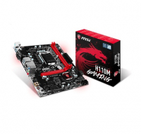 H110M GAMING - Intel H110, LGA1151, DDR4(Dual Channel), microATX