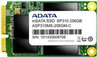 MSATA SSD ADATA ASP310 256GB 540/280MB SATA3