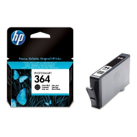 HP 364 Photo Black Ink Cartridge with Vivera Ink