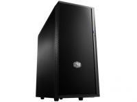 Silencio 452, matte front , side panels are equipped with noise absorbing materials, Two pre-installed 120mm fans, Liquid cooling ready, Dual Super Speed USB 3.0 & SD card reader, support of up to 6 HDDs and 2 SSDs
