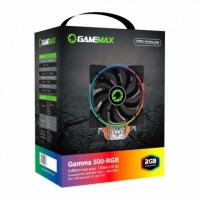 COOLER CPU GAMEMAX GAMMA 500 - CO/AL 5 HEAT PIPES 120MM RGB