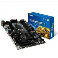 B150 PC MATE - Intel B150, LGA1151, DDR4(Dual Channel), ATX