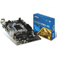 B150M PRO VD - Intel B150, LGA1151, DDR4(Dual Channel), microATX