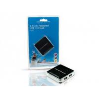 HUB EXTERNO USB 2.0 COM 4X USB 2.0 PORATS INCL. POWER ADAPTADOR