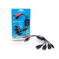 FLEXIBEL 3 PORTS HUB SOLUTION WITH ONE MINI USB PORT. .