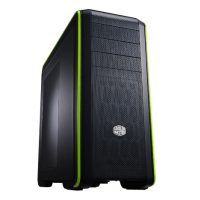 CM 690 III GREEN NVIDIA, Full mesh (top and Front), ODD tool-less ''EZ Trays'', Removable HDD/SSD combo cage + 3x HDD on second cage, Up to 8 fan, Multiple filters . 2x USB 3.0 and 2x USB 2.0. Transparent side panel version