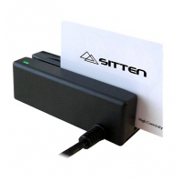 Sitten IDMB USB - Leitor de cartões com banda magnética - USB, 3 pistas