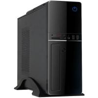 Caixa Slim Desktop UK-2007 MicroAtx 300W 85% Eficiência USB 3.0