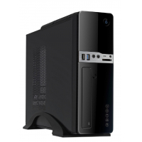 Caixa Slim Desktop UK-2009 MicroAtx 300W 85% Eficiência USB 3.0