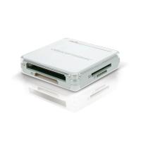 Leitor de Cartões tudo-em-1 USB 2.0, Cor: prata